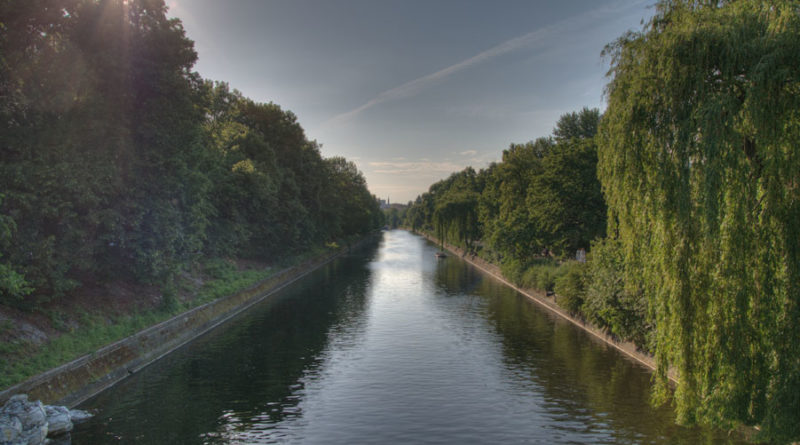 Landwehrkanal Berlin-Kreuzberg-Neukoelln