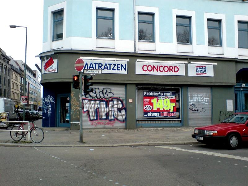 Matratzen Concord Oranienplatz 1 Berlin Kreuzberg Kreuzberg24net