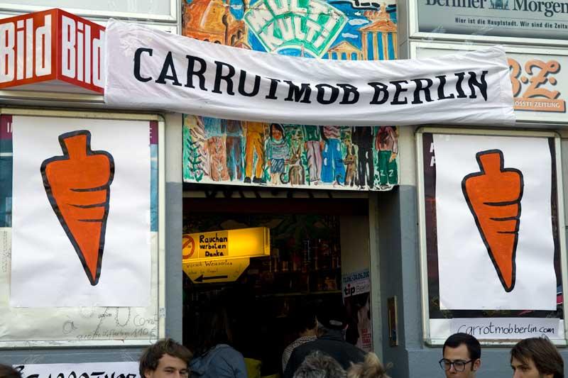 Spaetkauf Multikulti Carrotmob Berlin-Kreuzberg