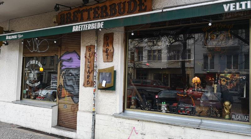 Bretterbude Berlin-Friedrichshain